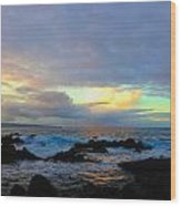 Hawaiian Landscape 14 Wood Print