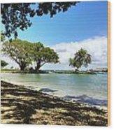 Hawaiian Landscape 1 Wood Print