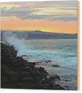 Hawaiian Landscape 15 Wood Print