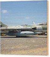 Hawker Hunter Fga 9. Fach 744 Wood Print