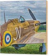 Hawker Hurricane 7d08c Wood Print