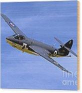 Hawker Sea Hawk Fga6 Wood Print