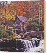 Babcock State Park Wood Print