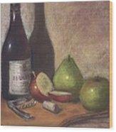 Hawley Wine Tasting Wood Print
