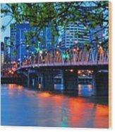 Hawthorne Bridge 22958 Wood Print