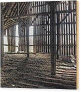 Hay Loft 2 Wood Print by Scott Norris