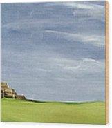 Haybarn Dreaming Wood Print