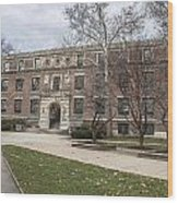 Hayes Hall Osu Wood Print