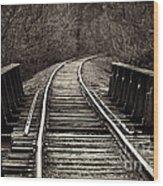 Haymaker Bridge Wood Print