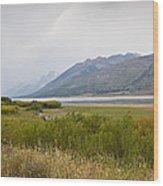 Hazy Day - Grand Teton National Park - Wyoming Wood Print
