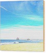 Hb Pier 7 Wood Print