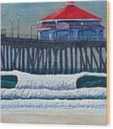 Hb Pier Wood Print