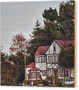 hd 374 hdr - Depot Hill 1 Wood Print