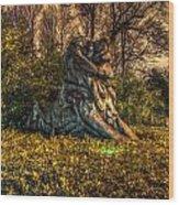 Hdr - Washington Dc National Zoo Wood Print