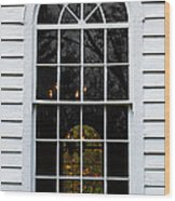 He Hears Our Prayers On Both Sides Of The Window Wood Print