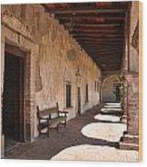 He Shall Rise Again, Mission San Juan Capistrano, California Wood Print
