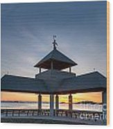 Head Island Pavillion Wood Print