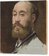 Head Of Jean-baptiste Faure Wood Print
