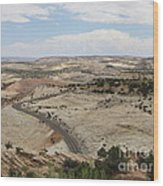 Head Of The Rocks - Scenic Byway 12 Wood Print