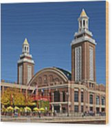 Headhouse Chicago Navy Pier Wood Print by Christine Till