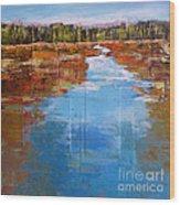 Heading West No. 5 Wood Print