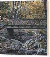 Headless Horseman Bridge Wood Print