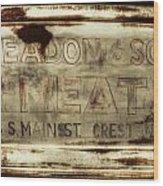 Headon And Son Wood Print