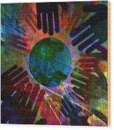 Heal The World Wood Print