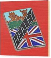 Healey Silverstone D Type Wood Print