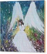 Healing Angel 2 Wood Print