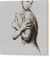 Healing Liz Wood Print