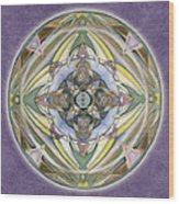 Healing Mandala Wood Print