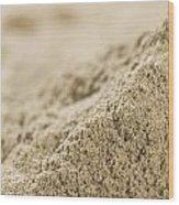 Heap Of Powdered Sage Wood Print