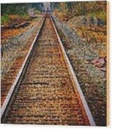 Hear My Train Comin Wood Print