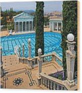 Hearst Castle Neptune Pool Wood Print