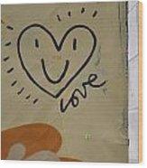 Heart 6 Wood Print
