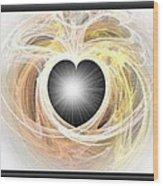 Heart N Soul Fractal Wood Print