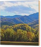 Heart Of Cataloochee Wood Print