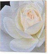 Heart Of Cream Wood Print