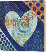 Heart Of Hearts Series - Elated Wood Print