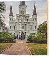 Heart Of The French Quarter Wood Print