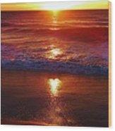 Heart Shaped Sunbeam 2 3/9 Wood Print