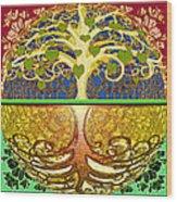 Heart Tree Wood Print