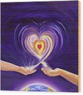 Heart Unity Wood Print