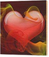 Heartbeat 4 Wood Print