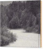 Hart's Pass Wood Print