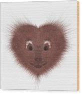 Hearty Beast 1 Wood Print