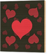 Hearty Delight Wood Print
