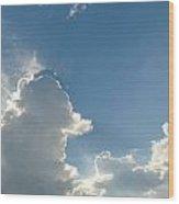 Heaven Above Wood Print