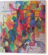 Heaven And Earth 1 Wood Print